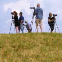 Cortona Students in Landscape 150