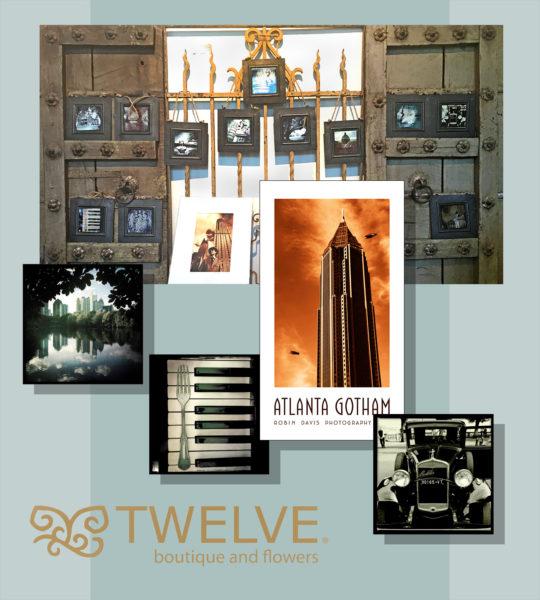 Robin Davis Photography new works on Display at TWELVE in Atlanta's VIrginia Highland Neighborhood